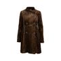 Authentic Second Hand Nanette Lepore Leopard Print Velvet Coat (PSS-004-00107) - Thumbnail 0