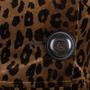 Authentic Second Hand Nanette Lepore Leopard Print Velvet Coat (PSS-004-00107) - Thumbnail 2