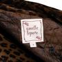 Authentic Second Hand Nanette Lepore Leopard Print Velvet Coat (PSS-004-00107) - Thumbnail 3