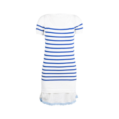 Authentic Second Hand Sacai Striped Mesh Dress (PSS-690-00033)