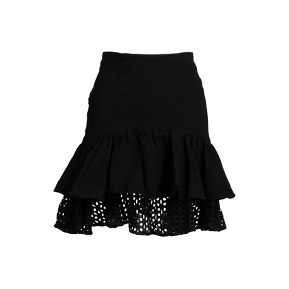 Authentic Second Hand Zac Zac Posen Ruffle Layered Skirt (PSS-048-00160)