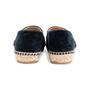 Authentic Second Hand Chanel Velvet 'CC' Cap Toe Espadrilles (PSS-143-00125) - Thumbnail 3