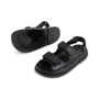 Authentic Second Hand Chanel Leather Velcro Sandals (PSS-610-00014) - Thumbnail 4