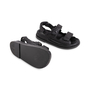 Authentic Second Hand Chanel Leather Velcro Sandals (PSS-610-00014) - Thumbnail 5