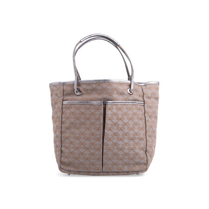 Authentic Second Hand Anya Hindmarch Nevis Monogram Canvas Tote (PSS-340-00250)