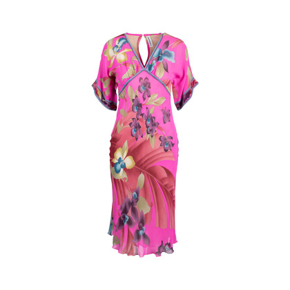 Authentic Second Hand Leonard Floral Midi Dress (PSS-049-00108)