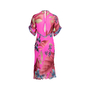 Authentic Second Hand Leonard Floral Midi Dress (PSS-049-00108) - Thumbnail 1