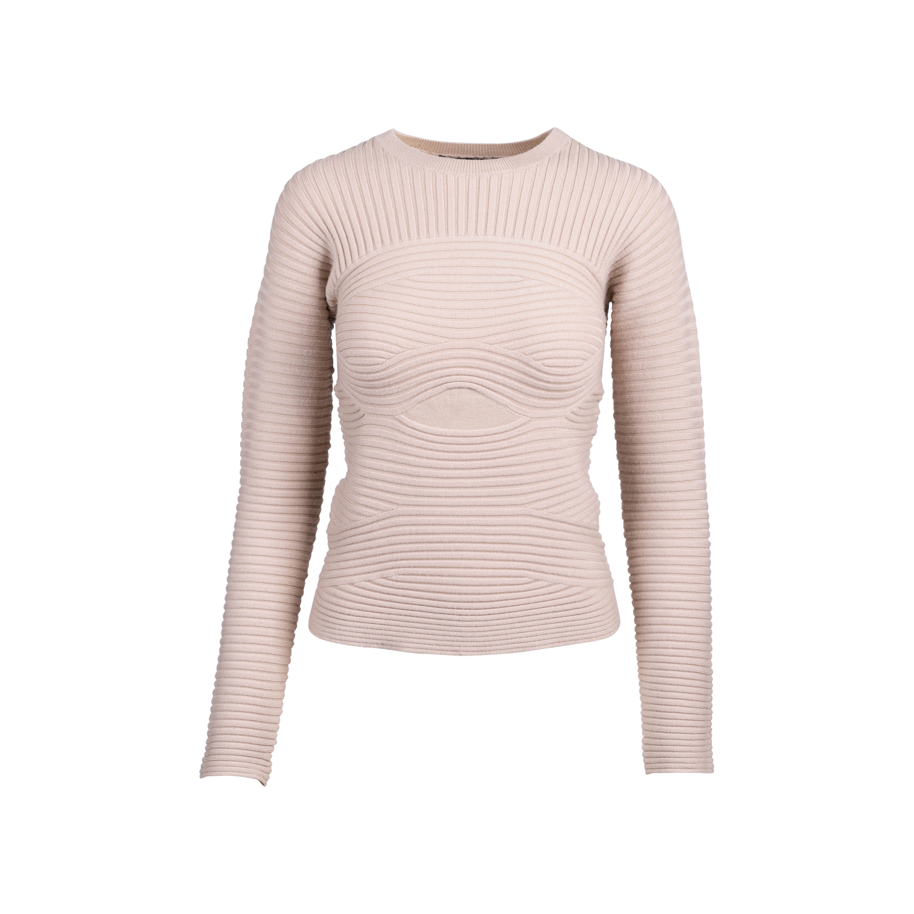 Wool Blend Knitted Top