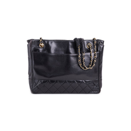 Authentic Second Hand Chanel Vintage Quilted Lambskin Bag (PSS-737-00019)