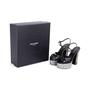 Authentic Second Hand Saint Laurent Candy Python and Ponyhair Platform Sandals (PSS-370-00113) - Thumbnail 6