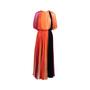 Authentic Second Hand Sonia Rykiel Multicolour Pleated Maxi Dress (PSS-200-01733) - Thumbnail 0
