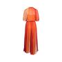Authentic Second Hand Sonia Rykiel Multicolour Pleated Maxi Dress (PSS-200-01733) - Thumbnail 1