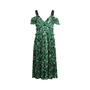 Authentic Second Hand Self-Portrait Cold Shoulder Pleated Floral Dress (PSS-236-00059) - Thumbnail 0