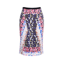 Authentic Second Hand Peter Pilotto Abstract Pencil Skirt (PSS-236-00061) - Thumbnail 0