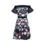 Authentic Second Hand Peter Pilotto Off Shoulder Floral Mini Dress (PSS-236-00062) - Thumbnail 1
