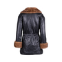 Authentic Second Hand Corsi Leather Leather Fur Coat (PSS-685-00004) - Thumbnail 1