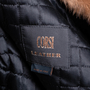 Authentic Second Hand Corsi Leather Leather Fur Coat (PSS-685-00004) - Thumbnail 2