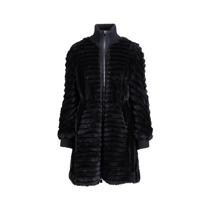Authentic Second Hand Armani Jeans Faux Fur Coat (PSS-685-00005)
