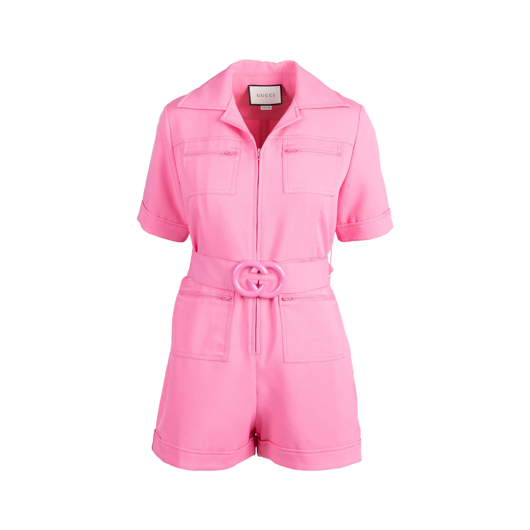 comfortable feel how to find shop for authentic Cady Romper With GG Belt