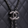Authentic Second Hand Chanel Large Accordion Bucket Bag (PSS-732-00012) - Thumbnail 5