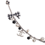 Authentic Second Hand Chanel 2011 Gingham Pearl Necklace (PSS-600-00038) - Thumbnail 3