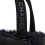 Authentic Second Hand Chanel Shearling Trim Suede Mini Bag (PSS-265-00160) - Thumbnail 4