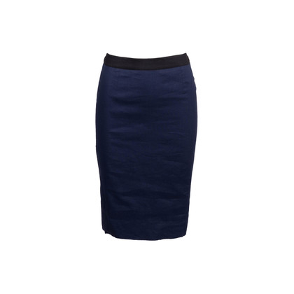 Authentic Second Hand Lanvin Structured Pencil Skirt (PSS-249-00050)