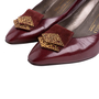 Authentic Second Hand Bruno Magli Leather Pumps (PSS-726-00003) - Thumbnail 4