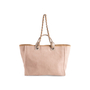 Authentic Second Hand Chanel Deauville Canvas Tote (PSS-606-00061) - Thumbnail 2