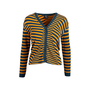 Authentic Second Hand McQ Alexander Mcqueen Striped Cardigan (PSS-721-00018) - Thumbnail 0
