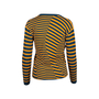 Authentic Second Hand McQ Alexander Mcqueen Striped Cardigan (PSS-721-00018) - Thumbnail 1
