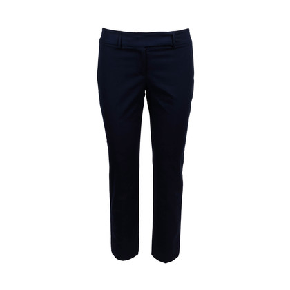 Authentic Second Hand Piazza Sempione Navy Trousers (PSS-340-00181)