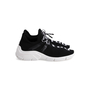 Authentic Second Hand Prada Knit Logo Lace-Up Sneakers (PSS-145-00310) - Thumbnail 2