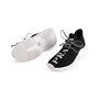 Authentic Second Hand Prada Knit Logo Lace-Up Sneakers (PSS-145-00310) - Thumbnail 4
