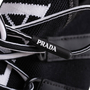 Authentic Second Hand Prada Knit Logo Lace-Up Sneakers (PSS-145-00310) - Thumbnail 6
