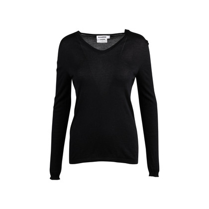 Authentic Second Hand Jil Sander V-Neck Sweater (PSS-145-00320)