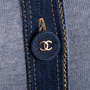 Authentic Second Hand Chanel Denim Trim Cardigan (PSS-606-00071) - Thumbnail 2
