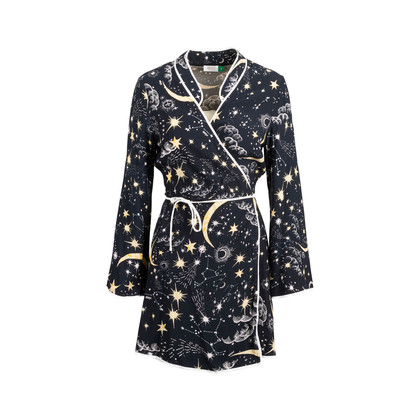 Authentic Second Hand Rixo Starry Print Robe (PSS-707-00022)