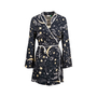 Authentic Second Hand Rixo Starry Print Robe (PSS-707-00022) - Thumbnail 0