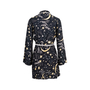 Authentic Second Hand Rixo Starry Print Robe (PSS-707-00022) - Thumbnail 1