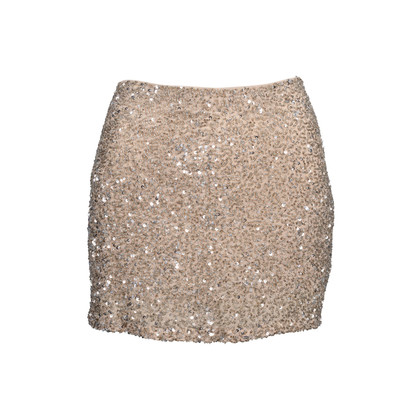 Authentic Second Hand Haute Hippie Embellished Mini Skirt (PSS-097-00160)
