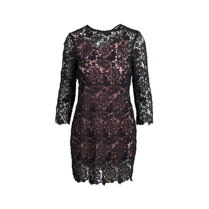 Authentic Second Hand Fleur Du Mal Guipure Lace Mini Dress (PSS-097-00166)