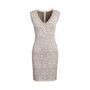 Authentic Second Hand Azzedine Alaïa Animal Print Bodycon Sleeveless Midi Dress (PSS-097-00173) - Thumbnail 0