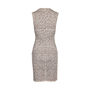 Authentic Second Hand Azzedine Alaïa Animal Print Bodycon Sleeveless Midi Dress (PSS-097-00173) - Thumbnail 1