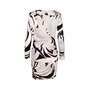 Authentic Second Hand Emilio Pucci Padded Shoulder Wrap Dress (PSS-097-00175) - Thumbnail 1