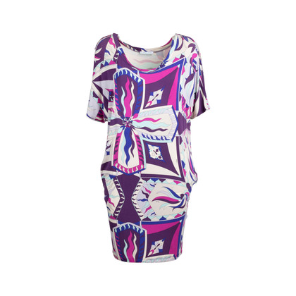 Authentic Second Hand Emilio Pucci Printed Silk Dress (PSS-097-00176)
