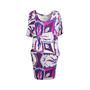 Authentic Second Hand Emilio Pucci Printed Silk Dress (PSS-097-00176) - Thumbnail 0