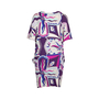 Authentic Second Hand Emilio Pucci Printed Silk Dress (PSS-097-00176) - Thumbnail 1