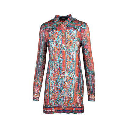 Authentic Second Hand Isabel Marant Printed Shirt Dress (PSS-097-00168)