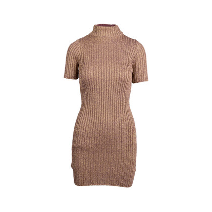 Authentic Second Hand For Love and Lemons Sparkle Knit Metallic Dress (PSS-097-00171)